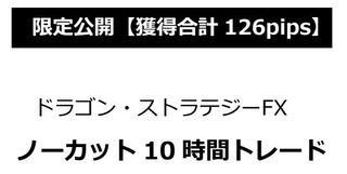 ドラゴン・ストラテジーfx~三種の神器~ 4時間で◯◯万円