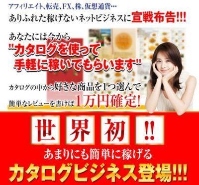 森下博さんのカタログビジネスモデルとは?レビューで1万円貰えたら苦労しないのでは・・?