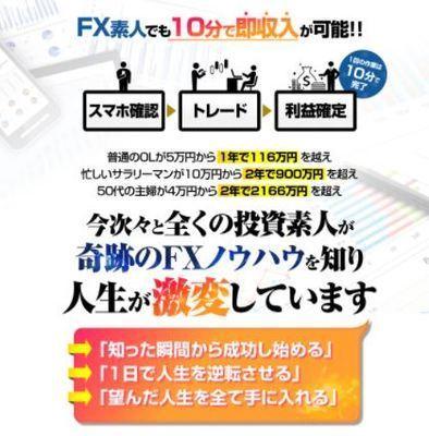 矢田丈の奇跡のFX 批評